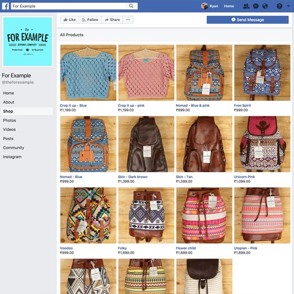 Facebook Shopping Integration