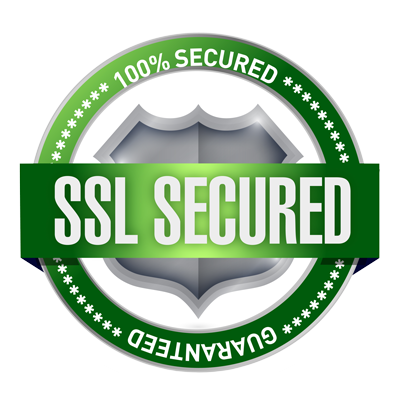 SSL secure certified guaranteed website security