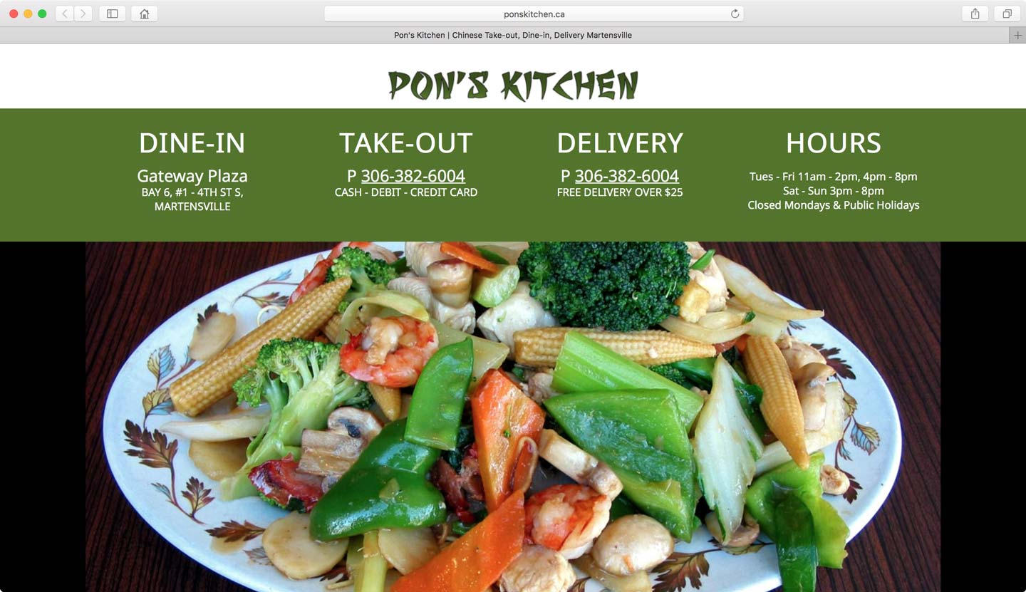 Developer that designs restaurant web designs