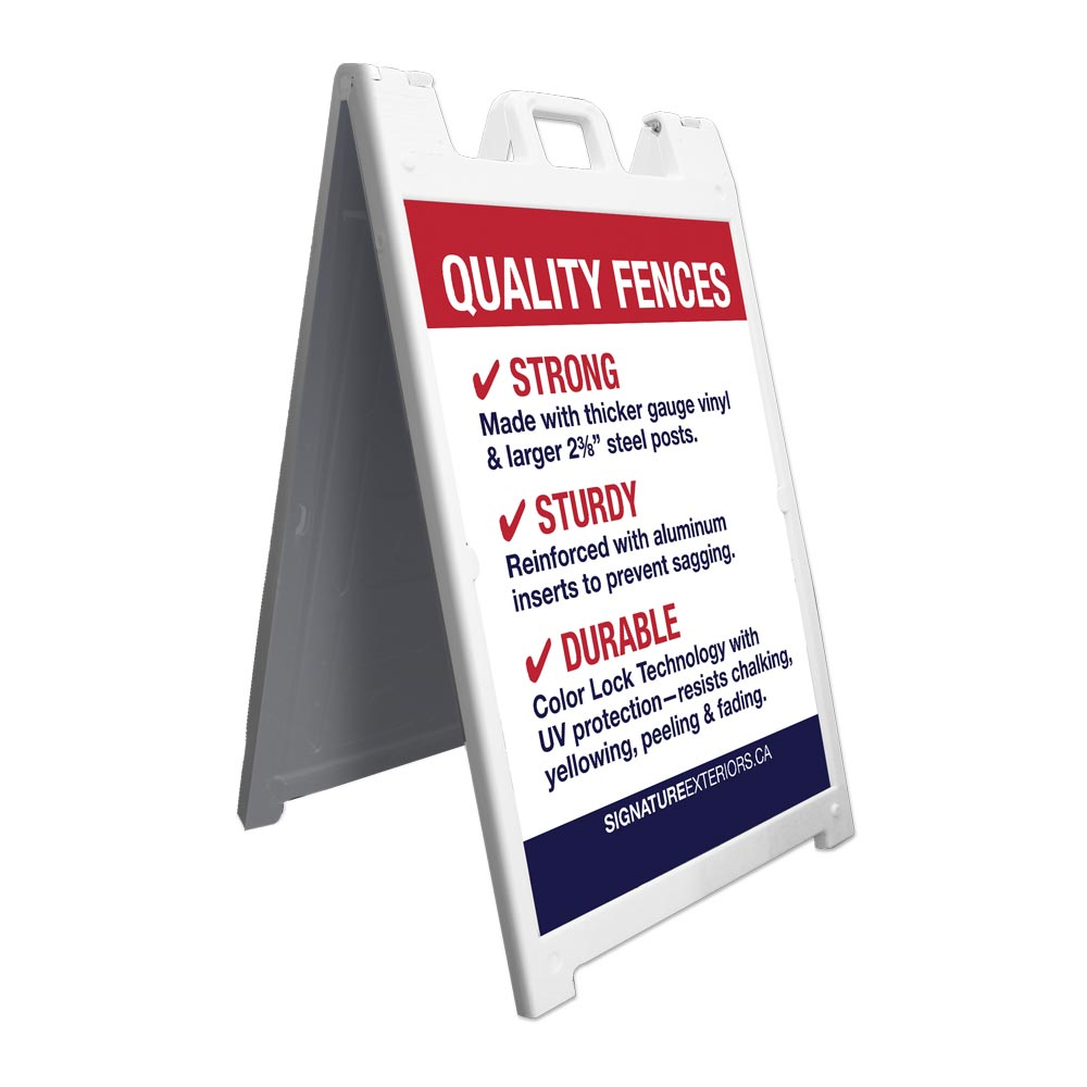 A-Frame Sandwich Board Signs