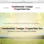 Webpage designs for home builders