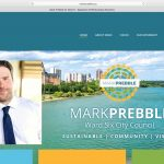 WordPress political website designer