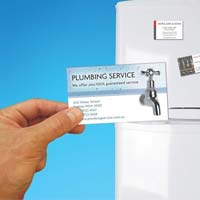Plumbing company marketing idea : Promotional magnets for plumbing company