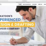 Webdesign for a Saskatoon drafting company