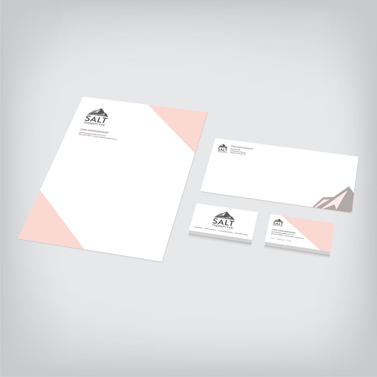 Branding corporate stationery