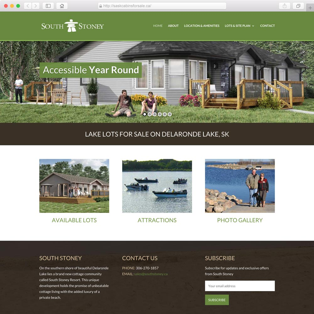 Homebuilder website design