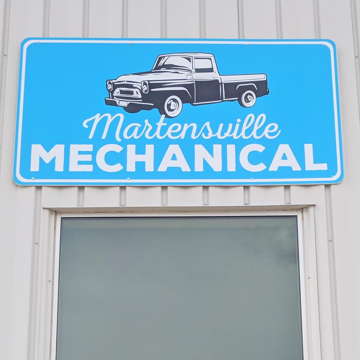 Mechanics shop branding
