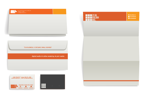 Stationery package design