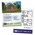 Professional real estate feature sheets